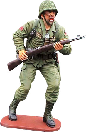 American Marine Soldier Life Size Statue
