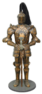 Mysterious Knight (6ft) Life Size Statue