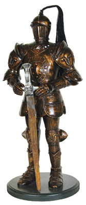 Armored Knight Statue 3FT