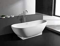 Valerio Acrylic Modern Freestanding Soaking Bathtub 71