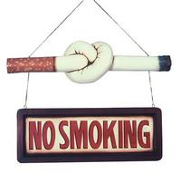 Restaurant No Smoking Cigarette Sign