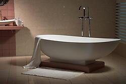 Valerio Acrylic Modern Bathtub 70.9 - NEW DESIGN!