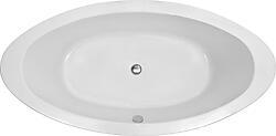 Brizio Acrylic Modern Freestanding Soaking Bathtub 73