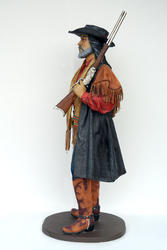 Cowboy with Shotgun Life Size Statue