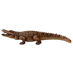 Crocodile Statue 8FT realistic Museum Quality