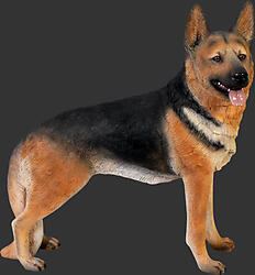 Dog Statue - German Shepherd