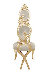 Suzette Modern Dining Chair Beige Velvet