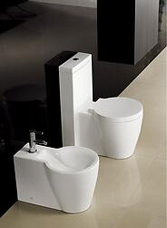 One Piece Dual Flush Modern Bathroom Toilet - Ferrara