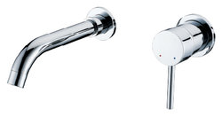 Valentino Chrome Finish Modern Bathroom Faucet