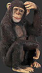 Chimpanzee Statue 2.5 FT