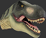 Dinosaur T-Rex Head Wall Mount Statue