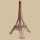 Eiffel Tower large Replica 12 FT