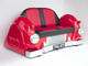 Mercedes Car Sofa - Red