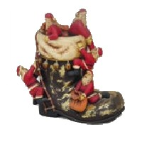 Boot with Santa 2.5FT