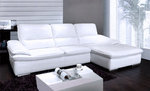 Silvano Modern Leather Sectional
