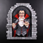 Dracula Wall Decor