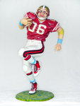 American Football Player Life Size Statue