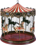 Decorative Carousel Bird Cage Hanging