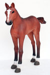 Baby Horse Foal Life Size Statue