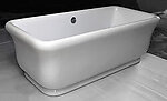 Bellona II  Acrylic Modern Freestanding Soaking Bathtub 71