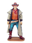 Cowboy Statue Bounty Hunter 3FT