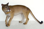 Cougar Standing Life Size Statue