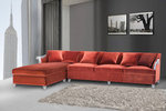 Claudine Modern Living Room Sectional