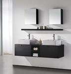 Riviera II - Modern Bathroom Vanity Set - 63