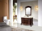 Constance Antique Style Bathroom Vanity Single Sink 50.2