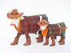 Western Theme Painted Cow Cowlamity Small
