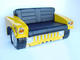 Hummer Hum Vee Sofa in Yellow