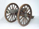 Cannon with Wagon Wheels Large Life Size