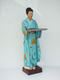 Japanese Woman Waitress Life Size Statue