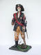 Skeleton Pirate Wooden Leg and Hook Life Size Statue
