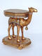 Camel Side Table - Gold