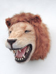 Lion Head Wall Mount