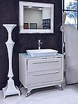 Modern Bathroom Vanity Set - Cristana Single Sink