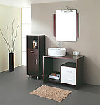 Malibu Modern Bathroom Vanity Set 35.4