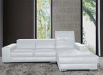 Orazio Modern Leather Sectional
