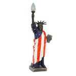 Statue of Liberty with American Flag 3FT