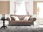 Tufted Sofa Velvet - Estacado
