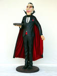Dracula Butler Statue Life Size