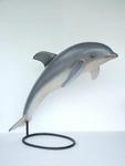 Jumping Dolphin With Stand Life Size Statue