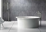 Pomezia Round Freestanding Soaking Tub 60