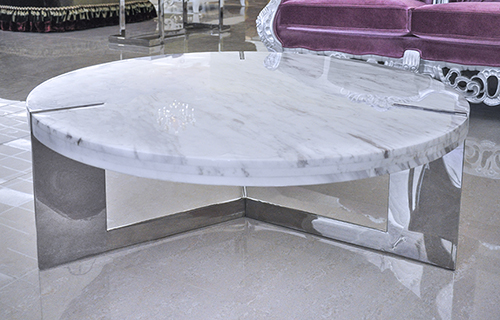 Modern Coffee Table Marble Coffee Table Round Coffee Table